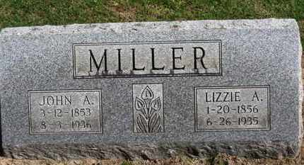 MILLER, LIZZIE A. - Erie County, Ohio | LIZZIE A. MILLER - Ohio Gravestone Photos