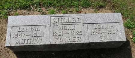 MILLER, JOHNIE - Erie County, Ohio | JOHNIE MILLER - Ohio Gravestone Photos