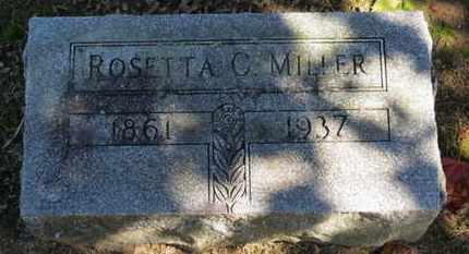 MILLER, ROSETTA C. - Erie County, Ohio | ROSETTA C. MILLER - Ohio Gravestone Photos