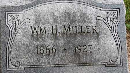 MILLER, WM. H. - Erie County, Ohio | WM. H. MILLER - Ohio Gravestone Photos