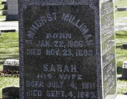 MILLIMAN, AMHURST - Erie County, Ohio | AMHURST MILLIMAN - Ohio Gravestone Photos