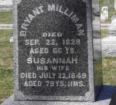 MILLIMAN, BRYANT - Erie County, Ohio | BRYANT MILLIMAN - Ohio Gravestone Photos