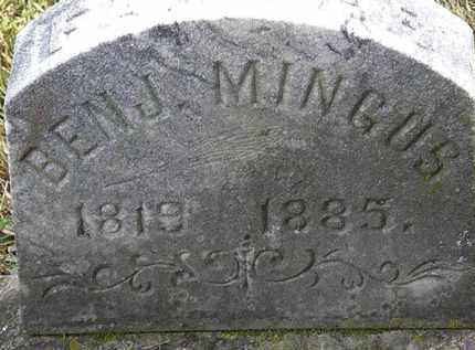 MINGUS, BENJ. - Erie County, Ohio | BENJ. MINGUS - Ohio Gravestone Photos