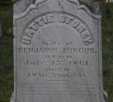 STOREY MINGUS, HATTIE - Erie County, Ohio | HATTIE STOREY MINGUS - Ohio Gravestone Photos