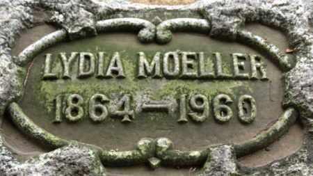 MOELLER, LYDIA - Erie County, Ohio | LYDIA MOELLER - Ohio Gravestone Photos