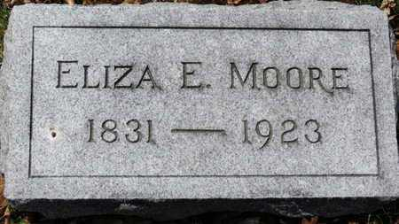 MOORE, ELIZA E. - Erie County, Ohio | ELIZA E. MOORE - Ohio Gravestone Photos