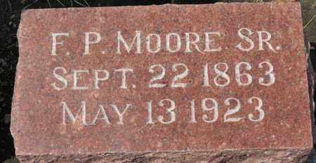 MOORE, F.P. - Erie County, Ohio | F.P. MOORE - Ohio Gravestone Photos