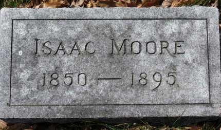 MOORE, ISAAC - Erie County, Ohio | ISAAC MOORE - Ohio Gravestone Photos