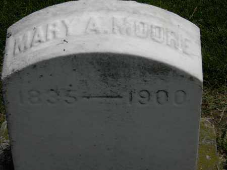 MOORE, MARY A. - Erie County, Ohio | MARY A. MOORE - Ohio Gravestone Photos