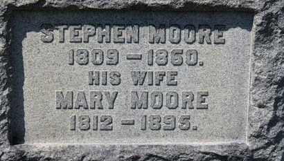 MOORE, STEPHEN - Erie County, Ohio | STEPHEN MOORE - Ohio Gravestone Photos