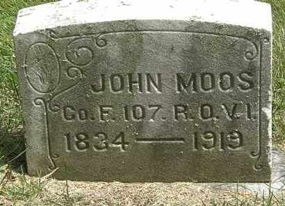 MOOS, JOHN - Erie County, Ohio | JOHN MOOS - Ohio Gravestone Photos