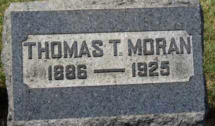MORAN, THOMAS T. - Erie County, Ohio | THOMAS T. MORAN - Ohio Gravestone Photos