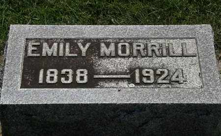 MORRILL, EMILY - Erie County, Ohio | EMILY MORRILL - Ohio Gravestone Photos