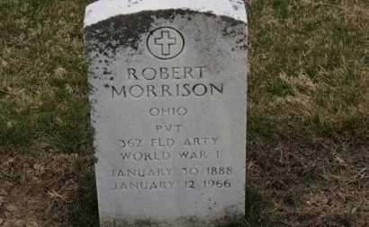 MORRISON, ROBERT - Erie County, Ohio | ROBERT MORRISON - Ohio Gravestone Photos