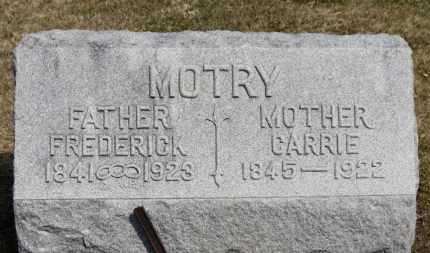 MOTRY, CARRIE - Erie County, Ohio | CARRIE MOTRY - Ohio Gravestone Photos