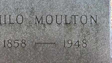 MOULTON, MILO - Erie County, Ohio | MILO MOULTON - Ohio Gravestone Photos