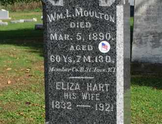 MOULTON, WM. L. - Erie County, Ohio | WM. L. MOULTON - Ohio Gravestone Photos