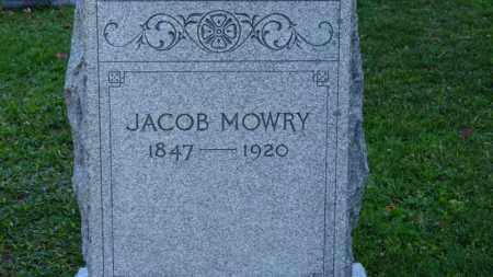 MOWRY, JACOB - Erie County, Ohio | JACOB MOWRY - Ohio Gravestone Photos