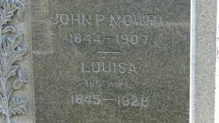 MOWRY, JOHN P. - Erie County, Ohio | JOHN P. MOWRY - Ohio Gravestone Photos