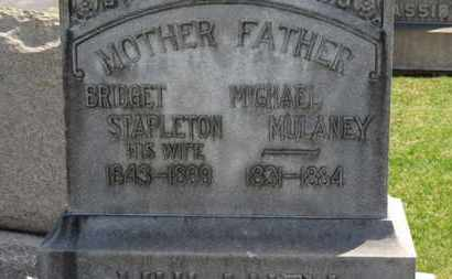 MULANEY, BRIDGET - Erie County, Ohio | BRIDGET MULANEY - Ohio Gravestone Photos