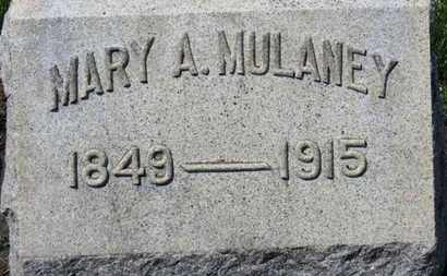 MULANEY, MARY A. - Erie County, Ohio | MARY A. MULANEY - Ohio Gravestone Photos