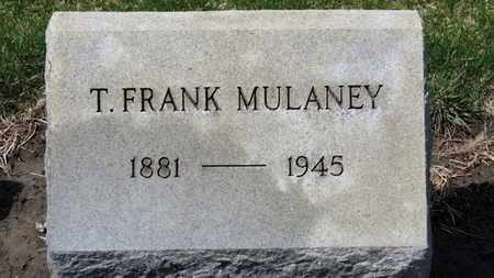 MULANEY, T. FRANK - Erie County, Ohio | T. FRANK MULANEY - Ohio Gravestone Photos