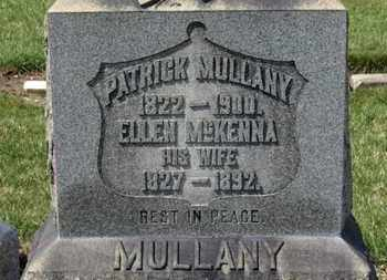 MULLANY, PATRICK - Erie County, Ohio | PATRICK MULLANY - Ohio Gravestone Photos