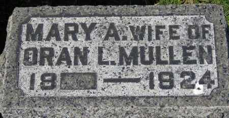 MULLEN, MARY A. - Erie County, Ohio | MARY A. MULLEN - Ohio Gravestone Photos