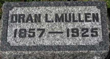 MULLEN, ORAN L. - Erie County, Ohio | ORAN L. MULLEN - Ohio Gravestone Photos