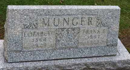 MUNGER, ELIZABETH - Erie County, Ohio | ELIZABETH MUNGER - Ohio Gravestone Photos