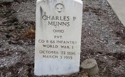 MUNNS, CHARLES P. - Erie County, Ohio | CHARLES P. MUNNS - Ohio Gravestone Photos