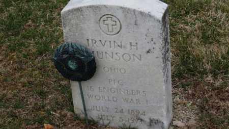 MUNSON, IRVIN H. - Erie County, Ohio | IRVIN H. MUNSON - Ohio Gravestone Photos