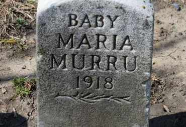 MURRU, MARIA - Erie County, Ohio | MARIA MURRU - Ohio Gravestone Photos
