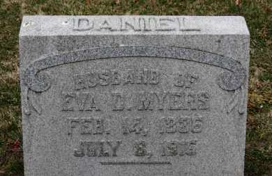 MYERS, DANIEL - Erie County, Ohio | DANIEL MYERS - Ohio Gravestone Photos