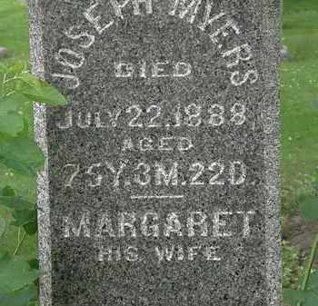 MYERS, MARGARET - Erie County, Ohio | MARGARET MYERS - Ohio Gravestone Photos
