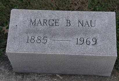 NAU, MARGE B. - Erie County, Ohio | MARGE B. NAU - Ohio Gravestone Photos