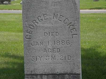 NECKEL, GEORGE - Erie County, Ohio | GEORGE NECKEL - Ohio Gravestone Photos