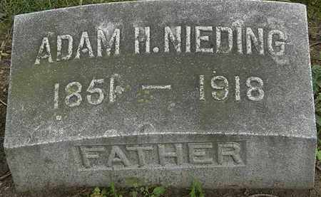 NEIDING, ADAM H. - Erie County, Ohio | ADAM H. NEIDING - Ohio Gravestone Photos
