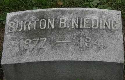 NEIDING, BURTON - Erie County, Ohio | BURTON NEIDING - Ohio Gravestone Photos