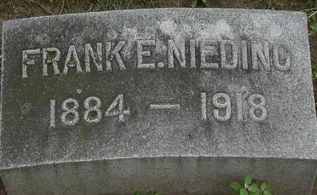 NEIDING, FRANK E. - Erie County, Ohio | FRANK E. NEIDING - Ohio Gravestone Photos