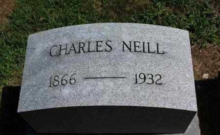 NEILL, CHARLES - Erie County, Ohio | CHARLES NEILL - Ohio Gravestone Photos