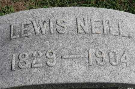 NEILL, LEWIS - Erie County, Ohio | LEWIS NEILL - Ohio Gravestone Photos