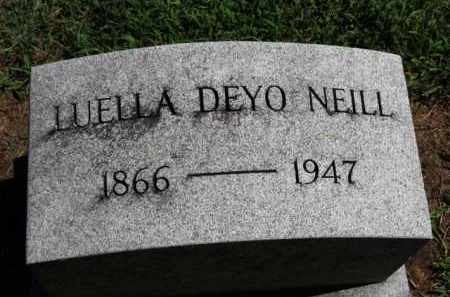 NEILL, LUELLA - Erie County, Ohio | LUELLA NEILL - Ohio Gravestone Photos