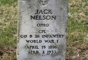 NELSON, JACK - Erie County, Ohio | JACK NELSON - Ohio Gravestone Photos
