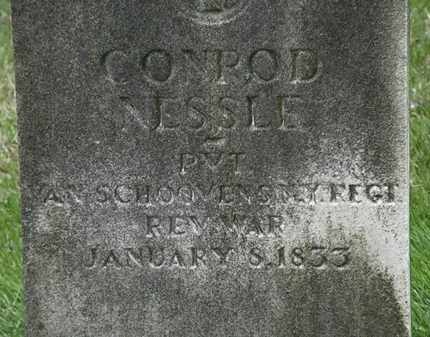 NESSLE, CONROD - Erie County, Ohio | CONROD NESSLE - Ohio Gravestone Photos