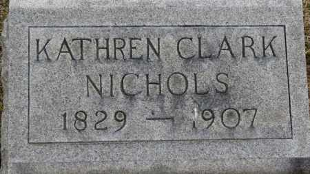 NICHOLS, KATHREN - Erie County, Ohio | KATHREN NICHOLS - Ohio Gravestone Photos