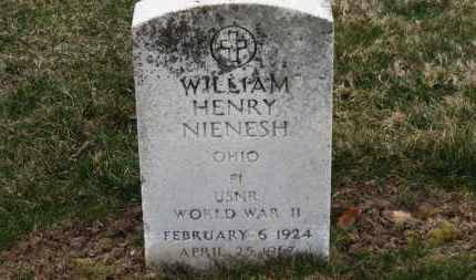 NIENESH, WILLIAM HENRY - Erie County, Ohio | WILLIAM HENRY NIENESH - Ohio Gravestone Photos