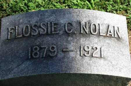 NOLAN, FLOSSIE C. - Erie County, Ohio | FLOSSIE C. NOLAN - Ohio Gravestone Photos