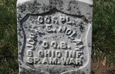 NOLAN, JOHN E. - Erie County, Ohio | JOHN E. NOLAN - Ohio Gravestone Photos
