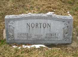 NORTON, HOMER - Erie County, Ohio | HOMER NORTON - Ohio Gravestone Photos